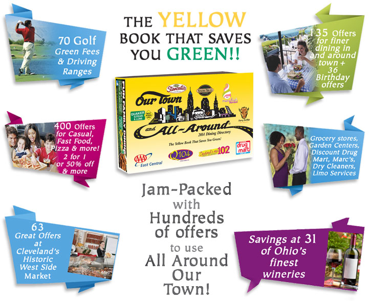 Joethecouponguy deals blog 2013 december new 2014 our town and all around coupon books new 2014 books now on sale the new our town coupon book is available for 28 with free shipping fandeluxe Gallery