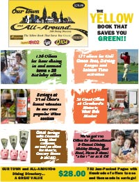 OUR TOWN AND ALL AROUND COUPON BOOK Sold Out New Books Available In September